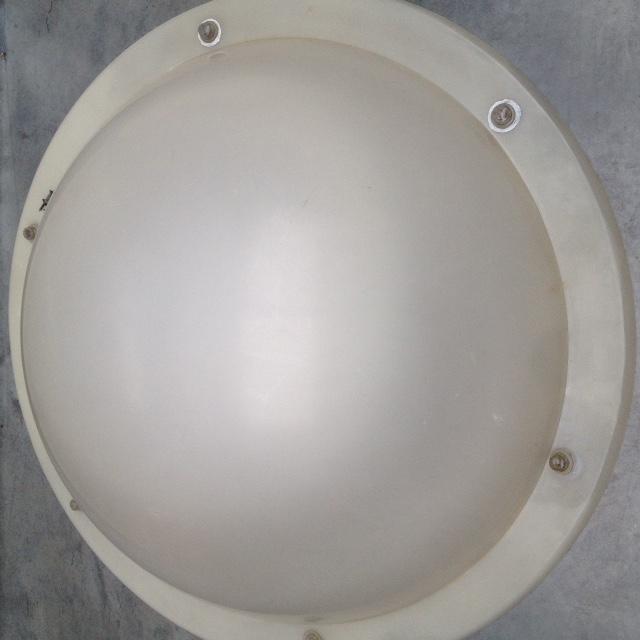 2de hands ronde lichtkoepel met dagmaat 100cm.